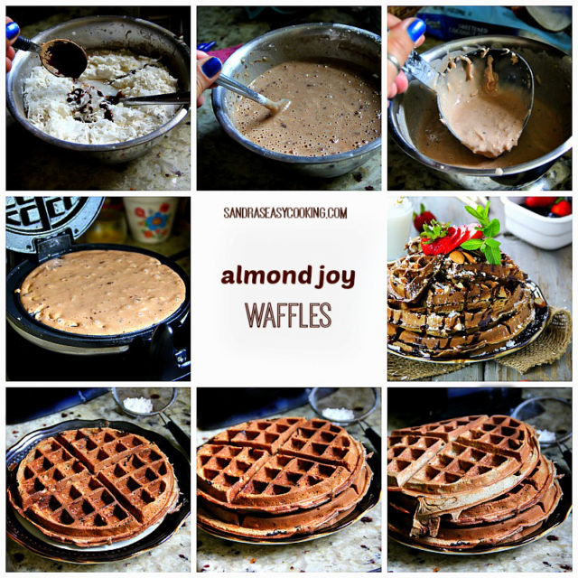 Almond Joy Waffles