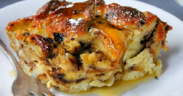 Breakfast Brioche Bread Pudding