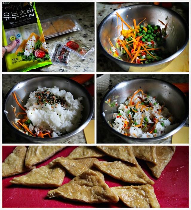 Lunch Box: Yubu Chobap (Inarizushi)