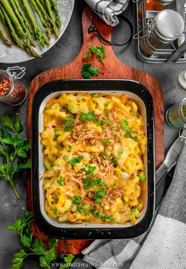 Easy Baked Pasta with Chicken Casserole Recipe