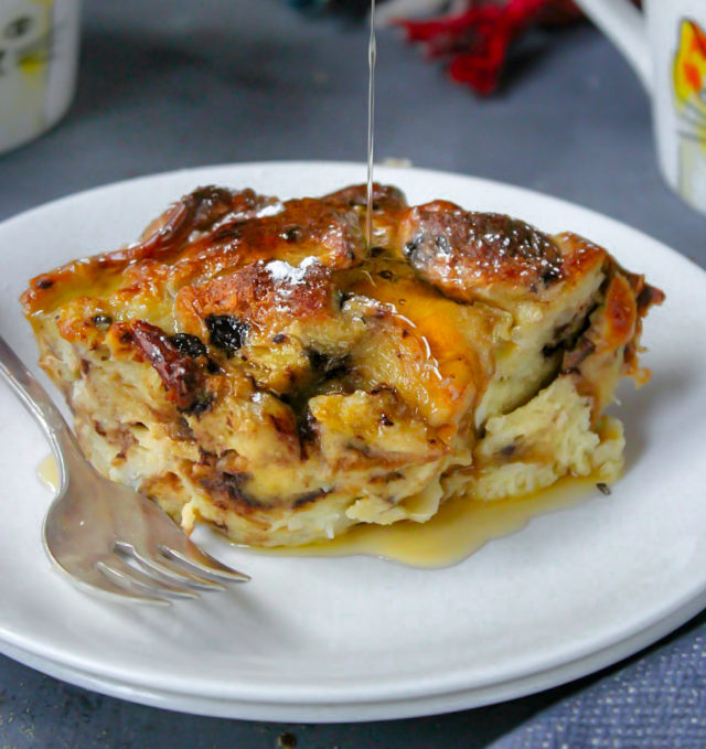 Breakfast Brioche Bread Pudding