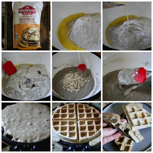Buckwheat Waffles GF, DF Recipe