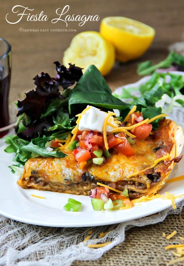 Fiesta Lasagna Recipe