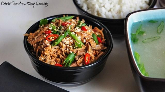 Korean Oxtail Soup Recipe 꼬리곰탕