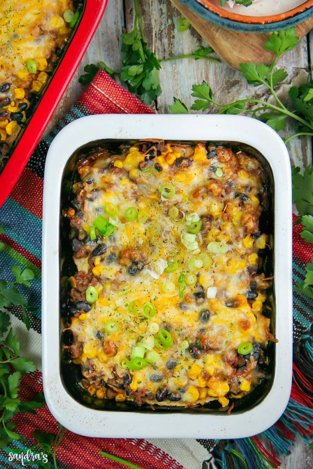 Homemade Mexican Lasagna Recipe