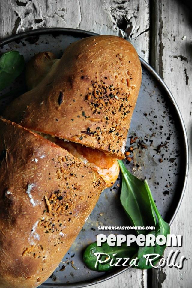 Pepperoni Pizza Rolls (Calzone) Recipe