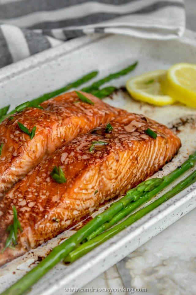Delicious recipe for Soy Sauce Marinated Salmon