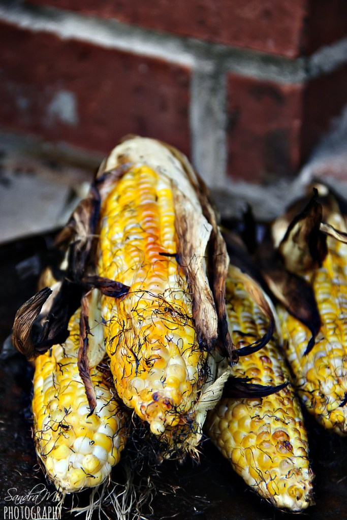 Grilled Corn on the Cob with Husks