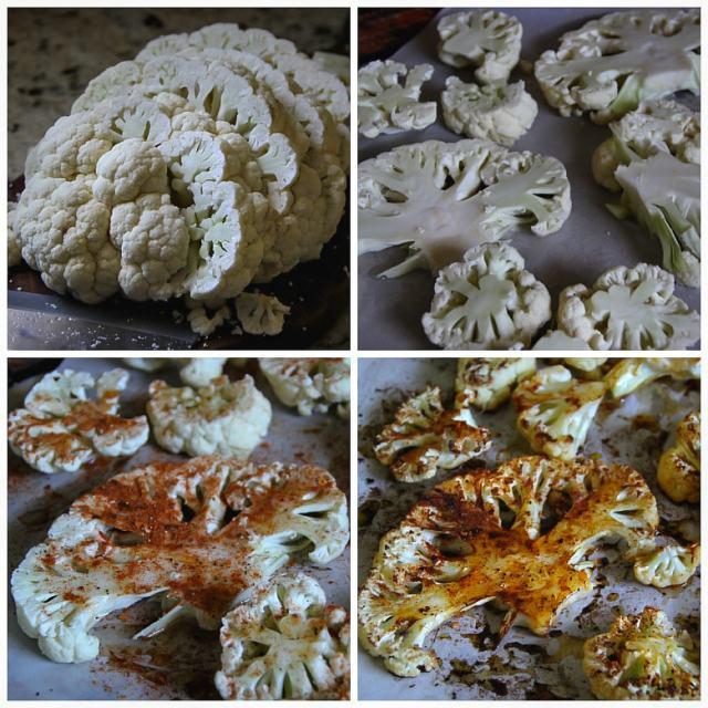 Oven-Roasted Thai Cauliflower Steaks