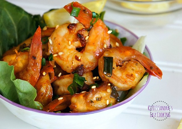 Sweet and Spicy Shrimps