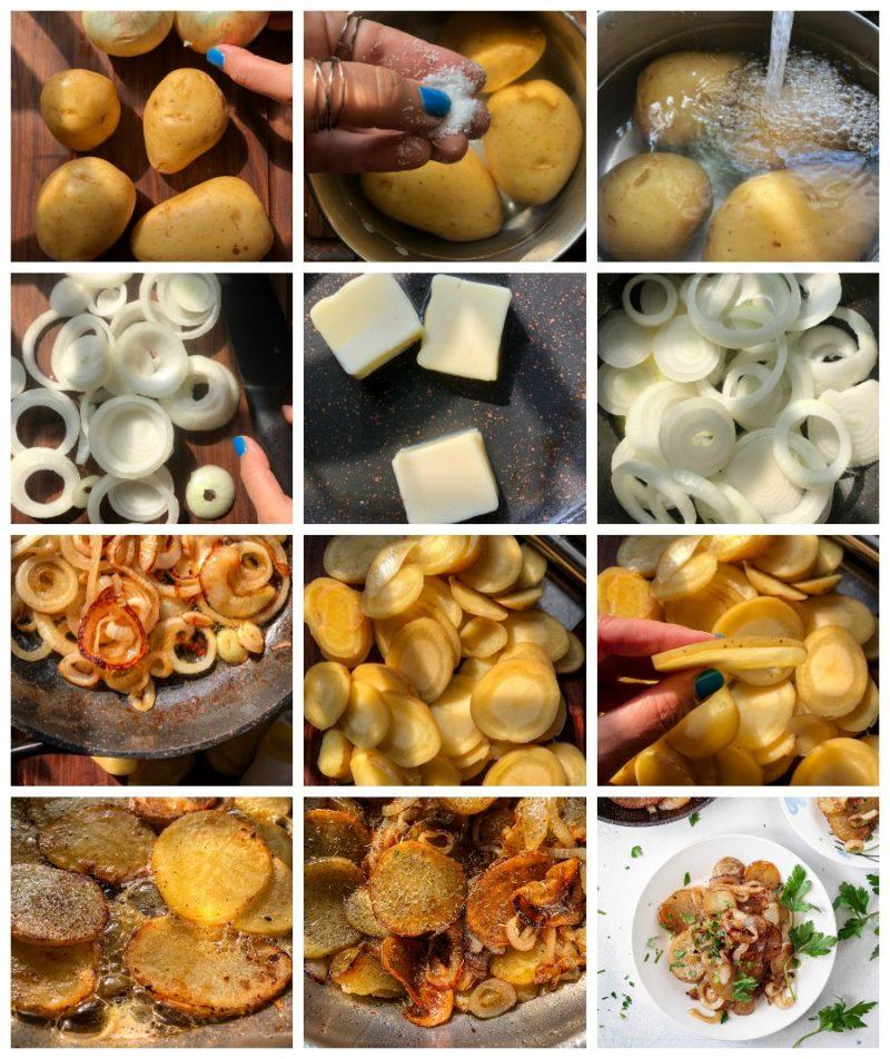 Easy Lyonnaise Potatoes Recipe