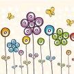 flores-con-puntos-de-color