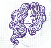 mujer pintada