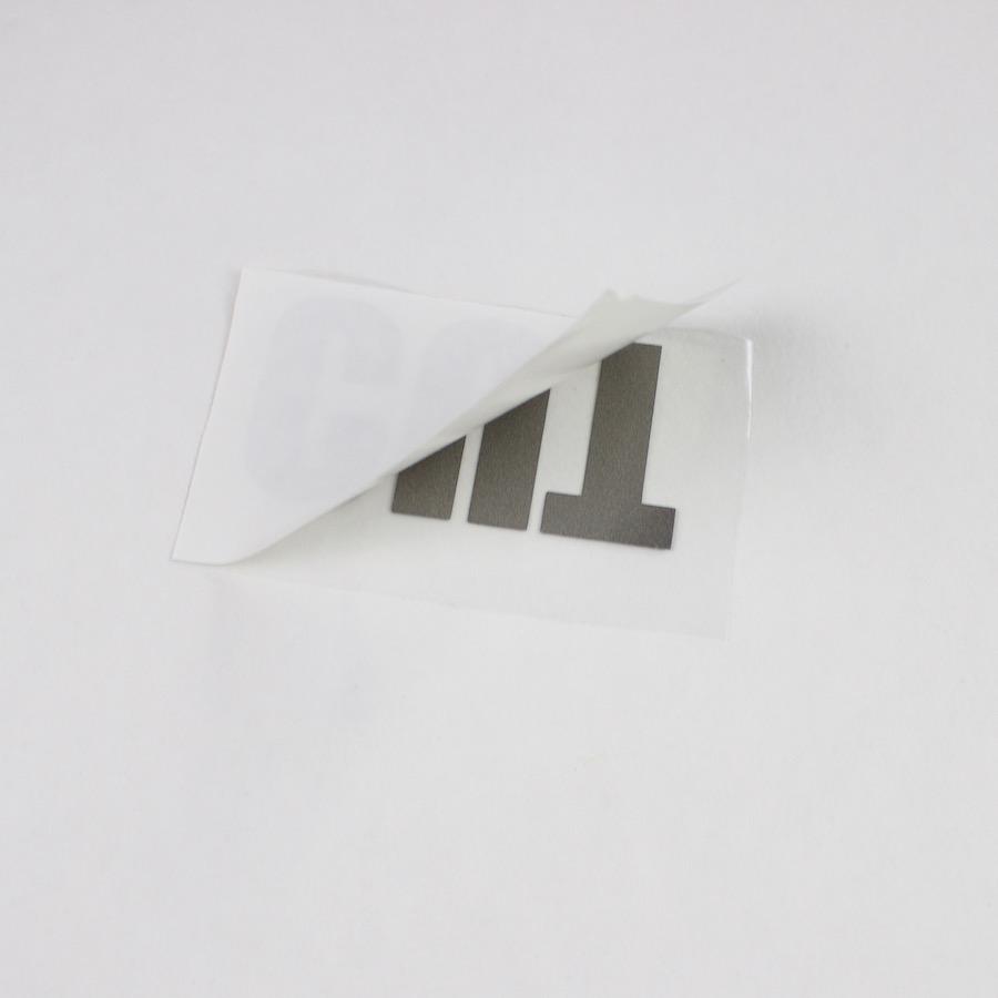 Schutzfolie von Vinyl entfernen