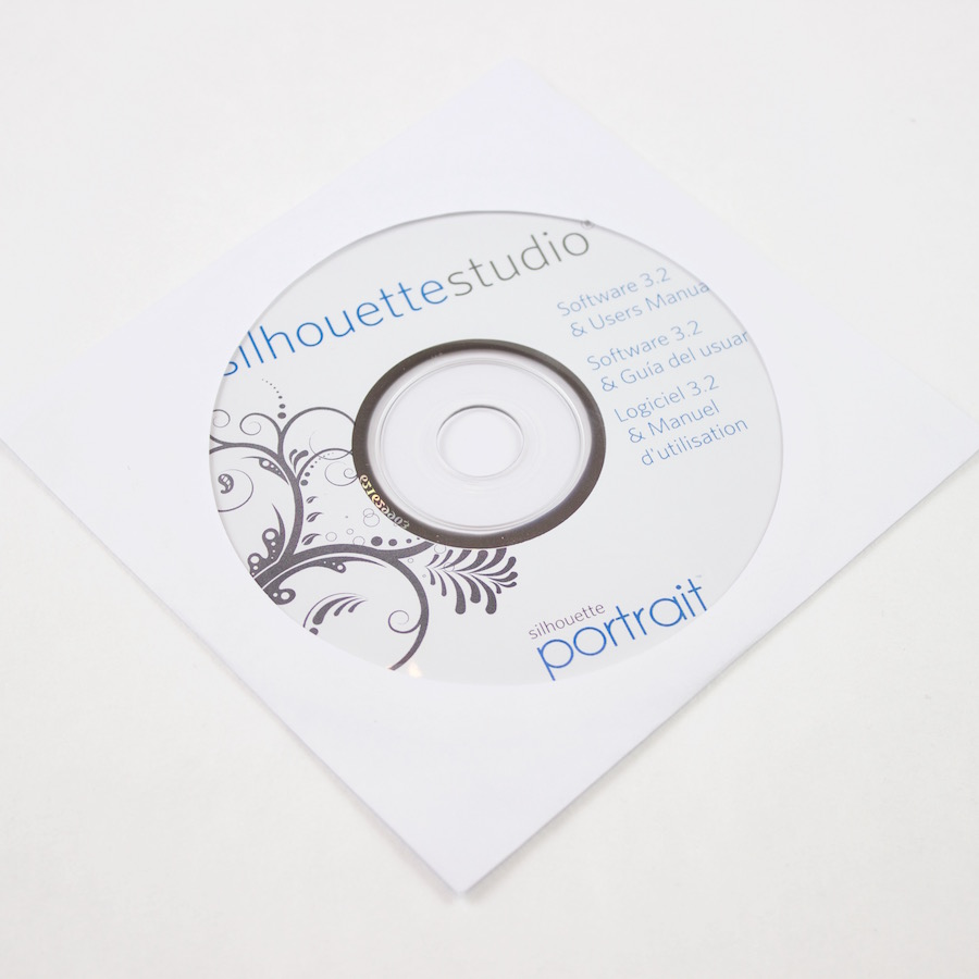 Silhouette Studio Software CD