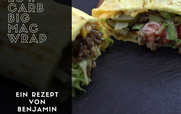 Low Carb Big Mac Wrap Rezept