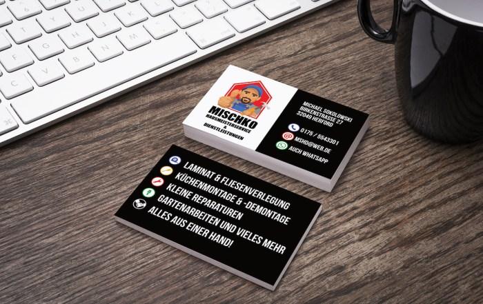 mischko-visitenkarten