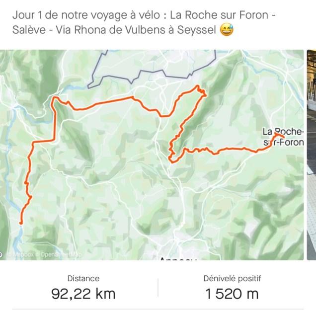 De La Roche sur Foron à Seyssel