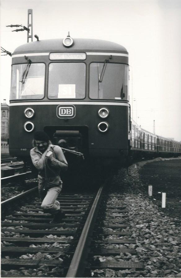 Zug um Zug, Performance, Hamburg Hauptbahnhof 1978