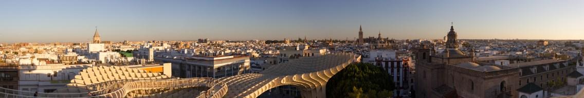 Aussicht über Sevilla