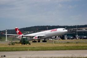 Take off in Zürich