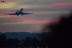 Take off im Alten Rhein