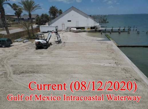 Gulf of Mexico Beach Erosion Solution Sandsaver