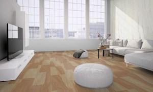 Loft with flexible sandstone floor covering design 028