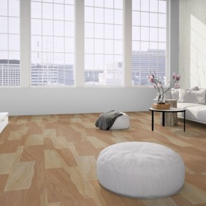 Loft with flexible sandstone floor covering design 028