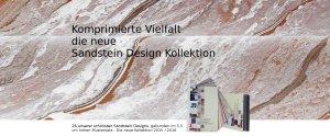 Flexibler Sandstein als Wandbelag und Fassadenverkleidung