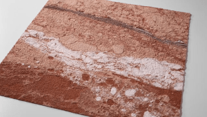 Flexible sandstone Red Cloud Surface