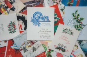 Christmas marketing ideas for small businesses: Christmas cards for existing clients