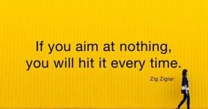 Quote small business goals Zig Ziglar