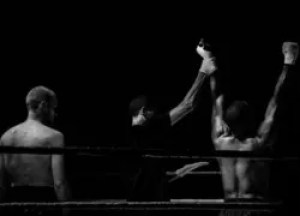 winner in boxing match