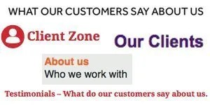 examples client testimonials and backlinks