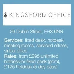 Edinburgh's Best Co-Working Offices for Small Businesses: Kingsford Office