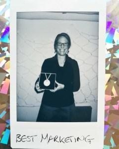 Denise Strohsahl, Best Marketing at Hillbilly Awards, Hill Street Design House