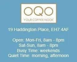 oqo coffee nook work remotely edinburgh