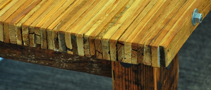 The Lath Collection Handmade Reclaimed Wood Furniture
