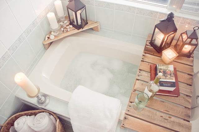 How to set up the perfect spa bath at home! | SandyALaMode