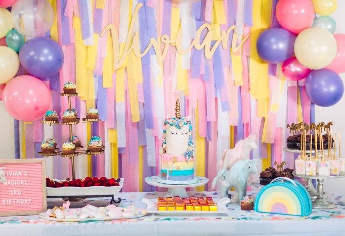 Magical Unicorn Birthday Party Parties Sandy A La Mode
