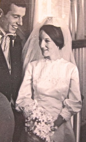 Our wedding day June 7, 1969