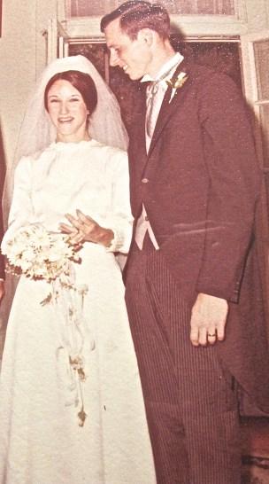 We're married! June 7, 1969