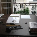 illustrating paris