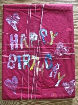 happy birthday bojagi