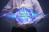 a man harnessing the power of digital marketing