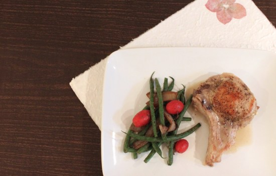 Stuffed Pork Chops: Pear-fect With Gorgonzola