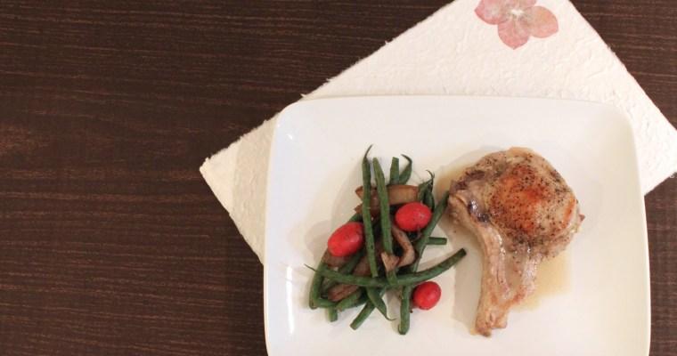 Stuffed Pork Chops: Pear-fect With Gorgonzola