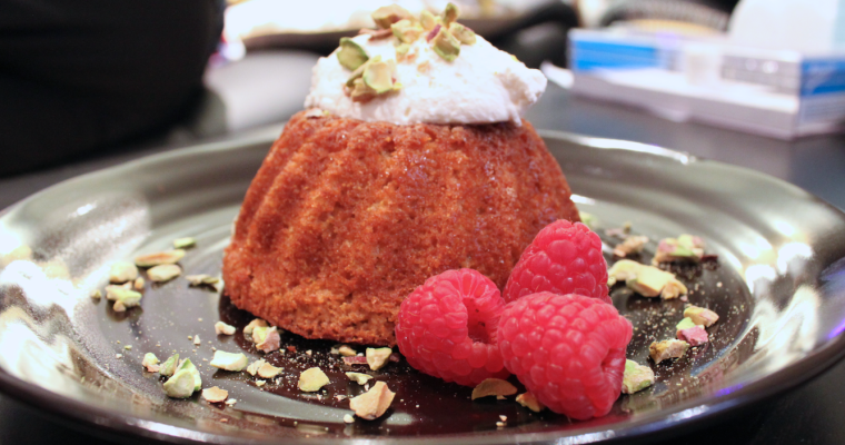 Lemon Pomegranate Olive Oil Cake