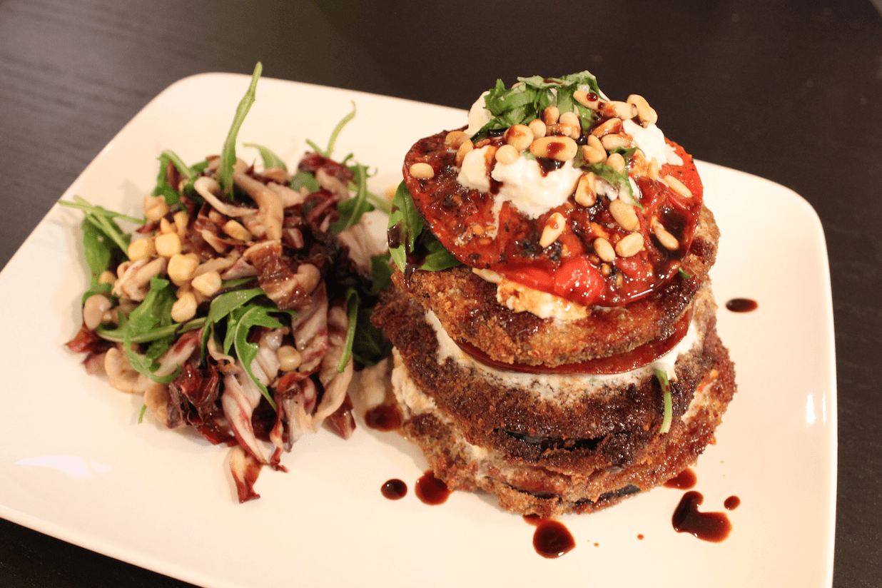 Fancy Pants Eggplant Parmigiana